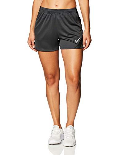 NIKE Dri-FIT Academy Pro Pantalones Cortos De Fútbol, Mujer, Antracita/Negro/Blanco, XL