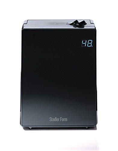 Stadler Form Design Ultraschall-Luftbefeuchter Jack, Vernebler mit Vorheizung, sehr leise, mit Kalkfilter, bis 65m², schwarz
