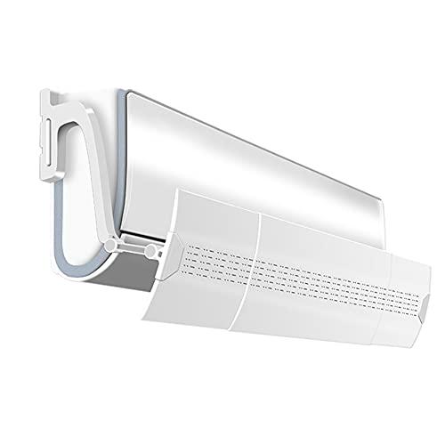 ZJJX Acondicionador de aire, sin perforación, fácil instalación, telescópico, 74-103 cm, para circulación de aire AC