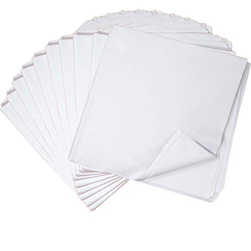 "360 Sheets Solid White Tissue Paper 20"" x 20"" Wrapping Accessory Assortment Set for Gift Wrap Christmas, Packing, DIY Arts & Crafts, Party Supplies and Wine Bottles"