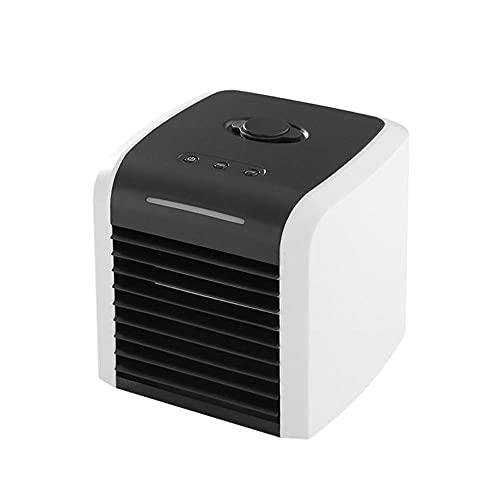 Mini acondicionador aire hogar Refrigerador aire portátil Espacio personal refrigeración ventilador oficina hogar Escritorio USB trabajo casa trabajo aire libre