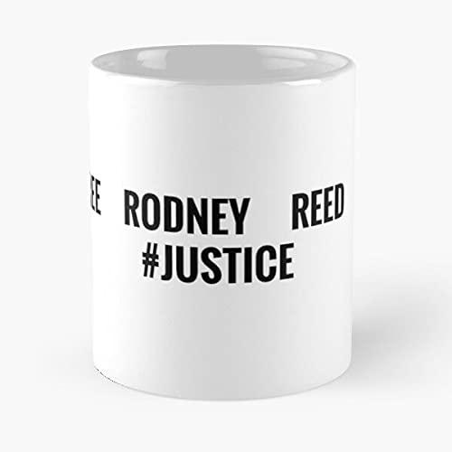 Taza de café con texto 'Dead Rodney Death Texas Wrong Sentenced Inmate Reed Meilleur Regalo'