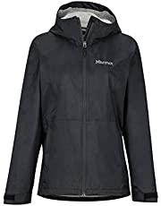 Marmot Wm's PreCip Eco Plus Jacket Chubasqueros, Chaqueta Impermeable, a Prueba de Viento, Impermeable, Transpirable, Mujer