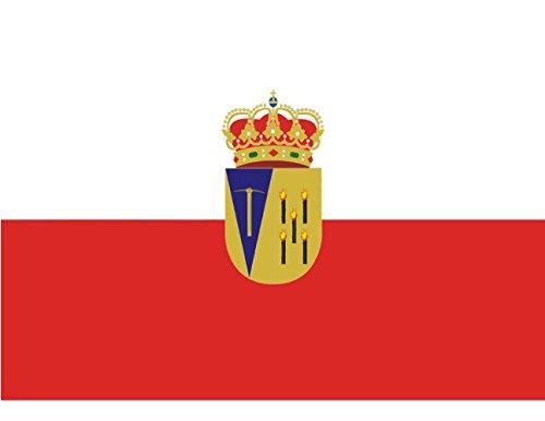 magFlags Bandera Large El Cabaco, en Salamanca España | Bandera Paisaje | 1.35m² | 100x130cm