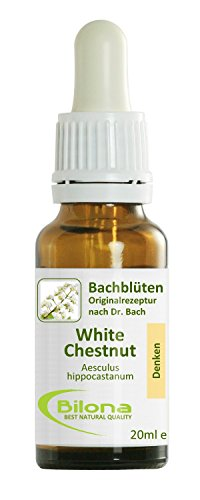 Joy Bachblüten, Essenz Nr. 35: White Chestnut; 20ml Stockbottle