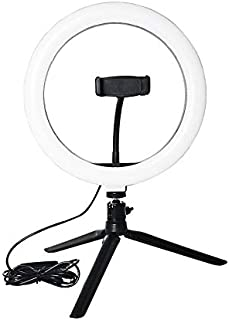 Gesh Licht 26cm/10 Inch LED Selfie Lamp Fotografie Licht met Statief voor Youtube Live Make-up Live