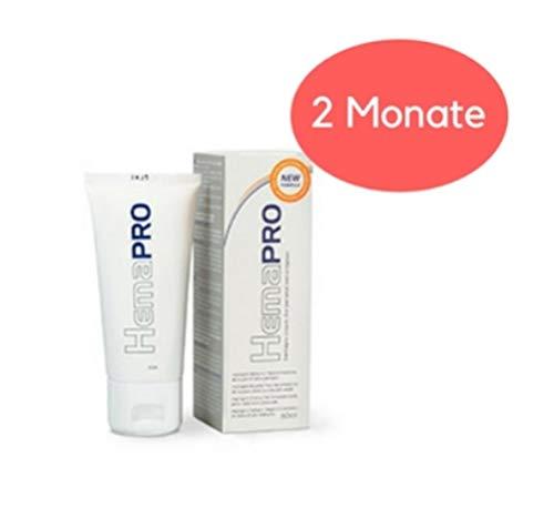 HemaPro Creme gegen Hämorrhoiden - 2er Pack | Effektives und natürliche Salbe | Wirksame Hämorrhoidensalbe | Wirkt nachhaltig und präventiv | Lindert Schmerzen und bekämpft die Hämorrhoiden