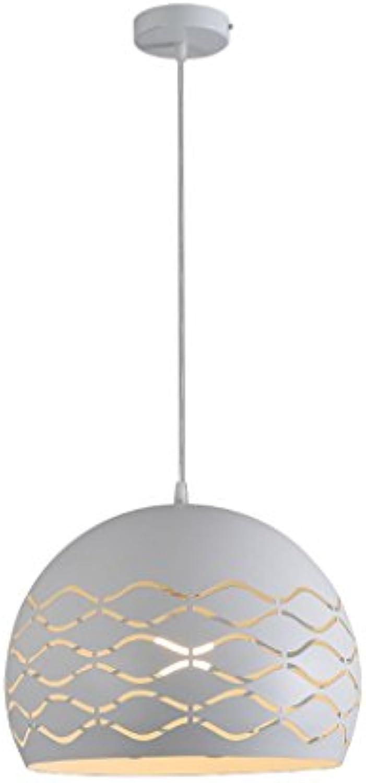 %Lampe Kronleuchter-Restaurant LED Single Head Kronleuchter Einfache moderne kreative dekorative Pendelleuchte (35cm  26cm) (Farbe   A-Weies Licht)