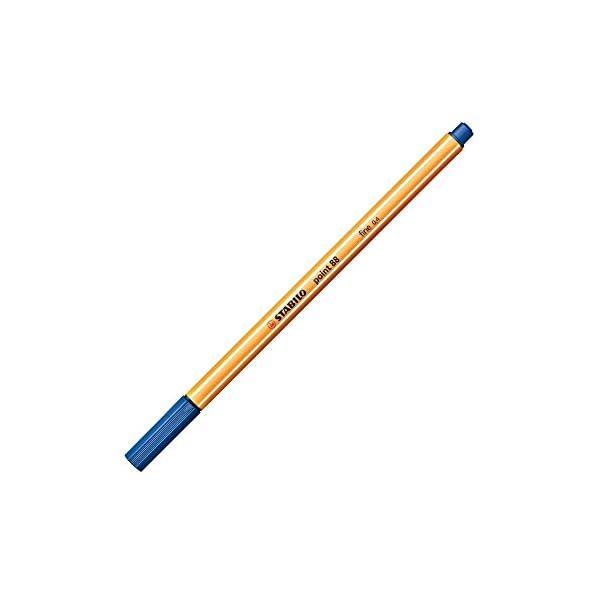 Stabilo 88/41 – Rotulador, 0.4 mm, Azul oscuro, 1 unidad