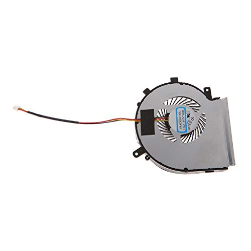 Yintiod laptopkoeler, laptop koeler CPU ventilator vervanging voor MSI GE62 GE72 GL62 GL72 PE60 PE70