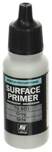 Vallejo - Fond de surface en polyuréthane - Coloré - 17 ml gris