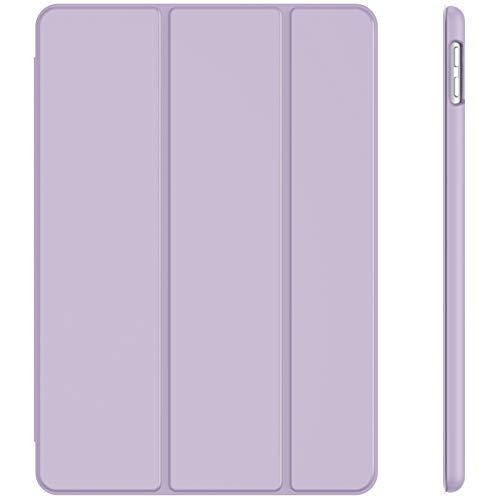JETech Hülle für iPad 8/7 (10,2 Zoll, Modell 2020/2019, 8./7. Generation), Auto Schlafen/Wachen, Helles Lila