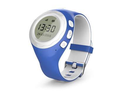 Ping Naut Pingonaut Kidwatch Smartwatch voor kinderen met GPS en SOS-telefoon met lokalisatie Home Mobile 8000249, blauw