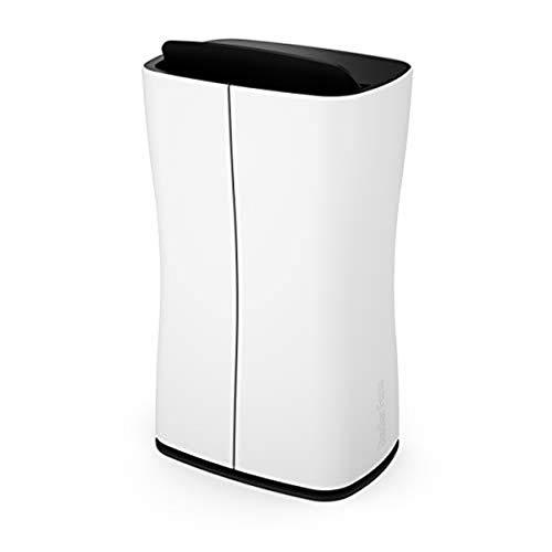 Stadler Form Entfeuchter Theo, 10 Liter/ 24 Stunden, schlankes Design, Hygrostat für zielgerichtete Raumentfeuchtung, gegen Feuchtigkeit und Schimmel, 30.5 x 51,6 x 21,6 cm, weiss