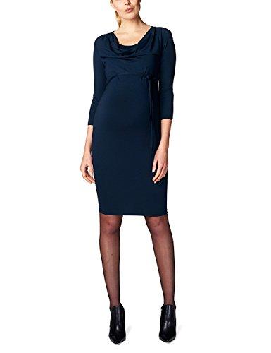 ESPRIT Maternity Damen Dress nursing Umstandskleid, Blau (Night Blue 486), 44 (Herstellergröße: XXL)