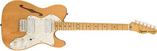 Fender Squier Classic Vibe 70s Thinline Tele MN NAT E-Gitarre