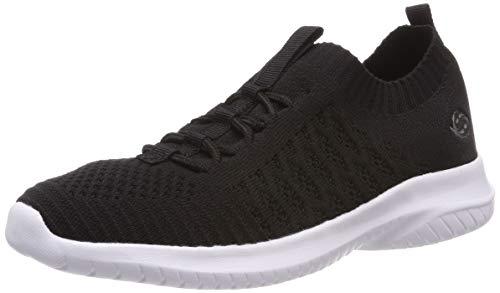 Dockers by Gerli Damen 44SY201-700100 Sneaker, Schwarz (Schwarz 100), 39 EU