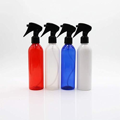 YIBANG-DIANZI Botellas de Spray 250ml Botella de plástico Pet de Botellas vacías Mano Pistola de pulverización Frasco de Perfume en Botella Flor de riego (Color : White)