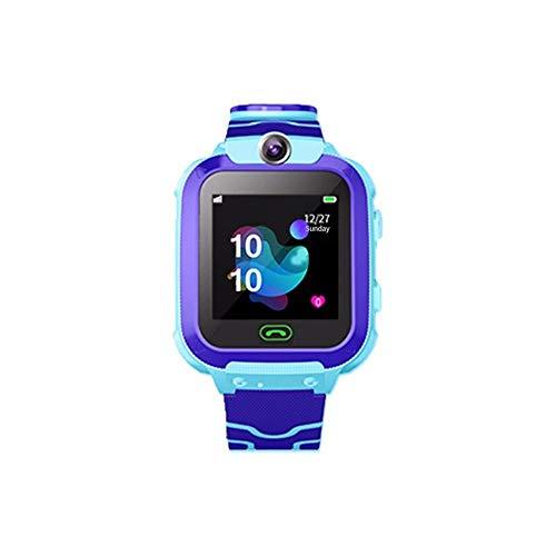 ZAKRLYB Kinder intelligente Uhr Wasserdichte Baby-SOS-Positionierung 2G SIM-Karte Anti-Lost-Smartwatch-Kinder-Tracker Smart Clock-Anruf-Uhr für Kinder 3-12 Geburtstagsgeschenk Kompatibel iOS Android (