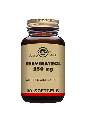 Solgar Resveratrol 250 mg Softgels - Pack of 30