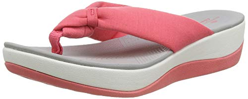 Clarks Women's Slingback Sling Back Sandals, Red Raspberry Raspberry, 10.5