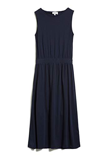 ARMEDANGELS LAMINAA - Damen Kleid aus Tencel™ Lyocell Mix L Night Sky Dresses Jersey, Kleider Jersey Slim Fit