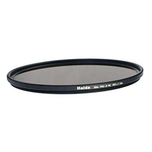 Haida Filtro ND grigio Slim Pro II MC (multistrato) ND1.2 (16x) – 77 mm, includecopriobiettivo con chiusura a pressione verso l'interno