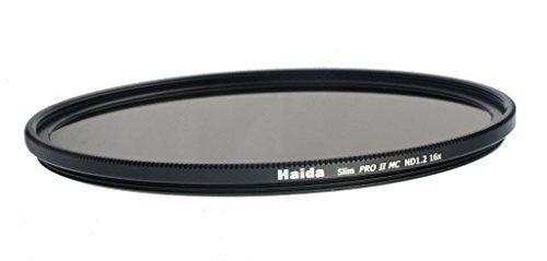 Haida Slim ND Graufilter PRO II MC (mehrschichtvergütet) ND1.2 (16x) - 77mm - inkl. Cap mit Innengriff