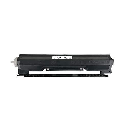 CF233A Cartucho de tóner compatible para HP M106w 106a M134a 134fw / nw/fp, Easy Plus Powder Protección del medio ambiente Alto rendimiento 2300 páginas Muy económico-Negro