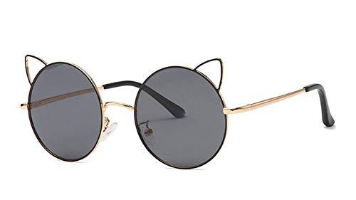 Gafas De Sol Polarized Kids, 100% De Protección UV Gafas De Dibujos Animados con Marco De Metal Y Lente TAC, Gafas Elegantes para Actividades Al Aire Libre (3-12 Año E