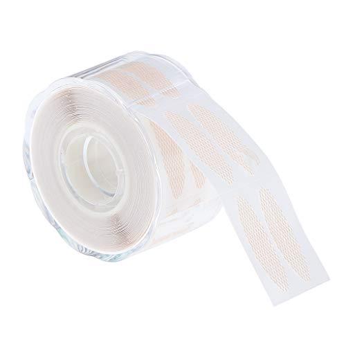Fenteer 1 Rolle 220 Paar Schlupflider Stripes Augenlid-Tape Streifen zum Lifting der Augenlider ohne OP - 2,5 x 1,2 cm