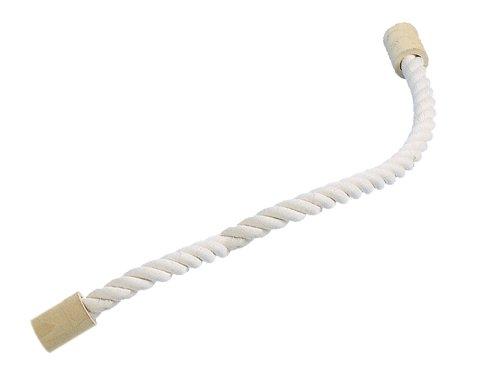Nobby Cage Toy, Sitzseil Baumwolle weiß L: 120 cm; Ø 28 mm