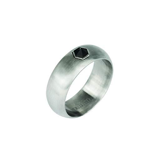 Morellato Anello da uomo, Collezione Vela, in acciaio, cristalli - SAHC19021