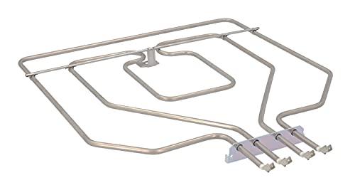 DREHFLEX - Oberhitze/Heizung/Heizelement - kompatibel für diverse Bosch/Siemens/Neff/Constructa Herde/Backofen - passend für Teile-Nr. 00773539/773539 ersetzt 471369/00471369 E.G.O