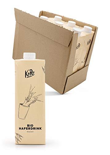 KoRo – Biologische haverdrank 8 x 1 l – veganistische melkvervanger