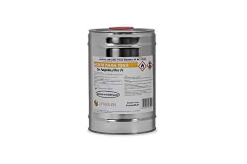ACEITE DE TEKA Con Fungicida Y Filtro UV en 5 LTS.