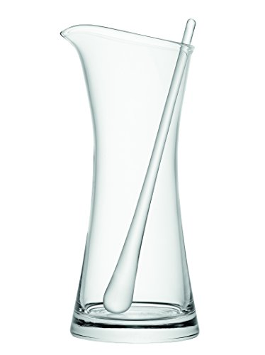 LSA International 1,2 L Bar Pichet à Cocktail et mélangeur, Transparent