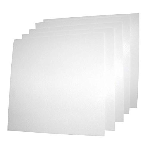 USAMADE#039s 5 Pack 12x12x062 ABS Plastic Sheets Moldable plastic sheets Great for DIY projects High Tensile and Impact Strength Plastic Made in USA