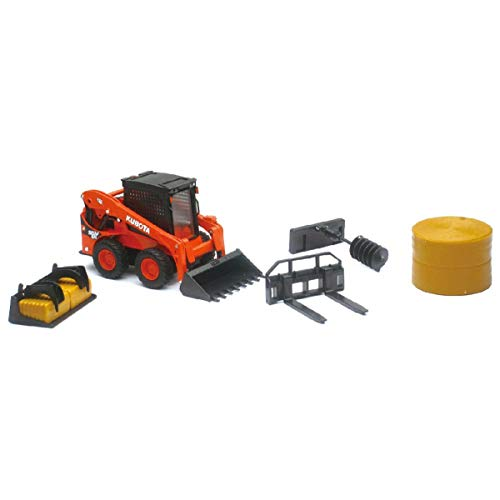 New-Ray 1:18 Kubota SSV65 Skid Loader (33133 CSS)
