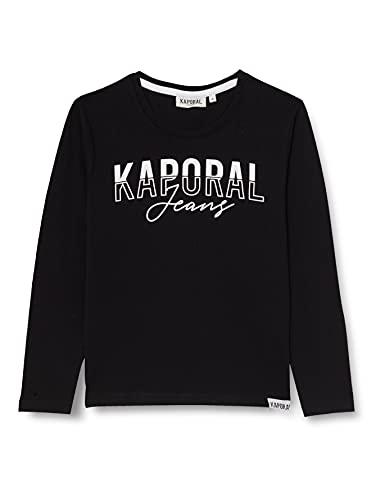 Kaporal Jodle T-Shirt, Black, 12 Ans Garçon