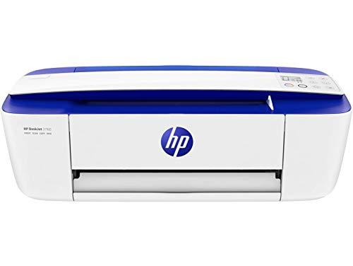 HP DeskJet 3760 drukarka wielofunkcyjna (drukowanie, skanowanie, kopiowanie, WLAN, Airprint, z 6 miesiącami próbnymi HP Instant Ink w zestawie), ciemnoniebieska