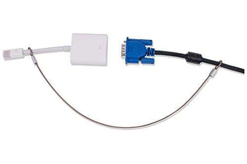 Universal CableTether – strapazierfähige, individuelle Länge Kabelbinder (10 Stück) – Do-It-Yourself, verstellbar, manipulationssicher – Sicherer Konferenzraum Computer Display Adapter und Mac Adapter