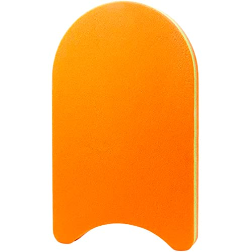 HOMEER Swimming Training Kickboard ,Training Aid Float for Swimming and Pool Exercise(Orange)