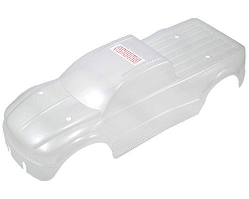 Traxxas 9.944,1cm e-maxx Brushless Dekorbogen Body Modell Kfz-Teile, Transparent