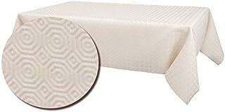 lemoinscherdeladeco sous Nappe - Protection de Table Blanc – Largeur 140cm (220 cm)