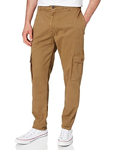 Urban Classics Herren Tapered Pants Cargo Klassische Hose, summerolive, 32
