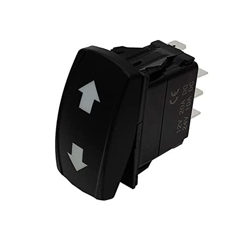 YSYSPUJ Muchas Opciones para su lámpara LED Verde Dual en Off en el Interruptor de la señal de Giro de 4pin (Color : 3 ON Off ON 7PIN)