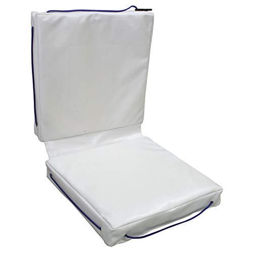 Lalizas 11512 Cojin de Cubierta con flotabilidad Doble, Grey, Peso: 1.25Kg