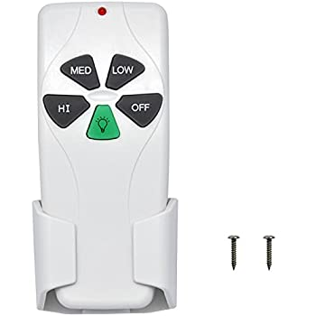 53T Ceiling Fan Remote Control Replacement for Harbor Breeze Hampton Bay Hunter Replace 2AAZPFAN53T FAN-53T L3HFAN11T FAN-11T L3HFAN35T1 FAN-35T KUJCE9103 CHQ8BT7030T CHQ7030T UC7030T