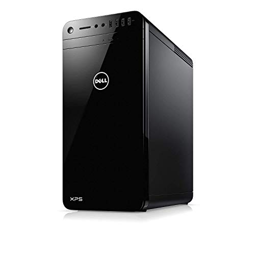 Dell XPS 8930 Desktop PC - Intel Core i7-8700 3.2GHz, 16GB, 2TB HDD, GeForce GTX 1050Ti 4GB Graphics, DVDRW, Bluetooth, Windows 10 Home (Renewed)